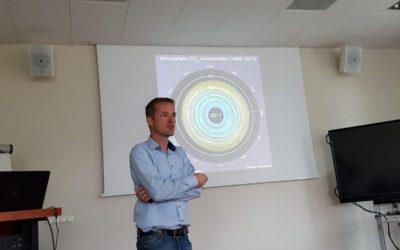 Dr. Frank Dimroth's seminar on III-V multijunction solar cells at SRI